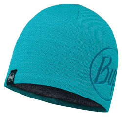 Шапка Buff Knitted & Polar Hat Solid Logo turquoise