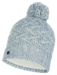 Шапка с помпоном Buff Knitted & Polar Hat ebba cloud