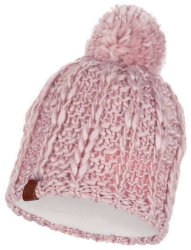 Шапка с помпоном Buff Knitted & Polar Hat liv new coral pink