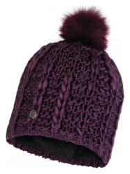 Шапка с помпоном Buff Knitted & Polar Hat liv new dahlia
