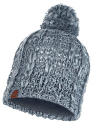 Шапка с помпоном Buff Knitted & Polar Hat liv pebble