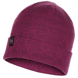 Шапка Buff Knitted Hat Greta purple raspberry