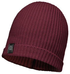 Шапка Buff Knitted Hat Basic wine