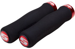 Ручки руля Sram Locking Grips Foam Cont 129 blk/red