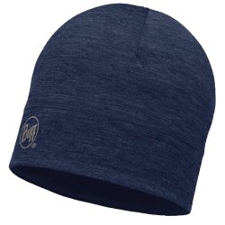 Шапка Buff Merino Wool 1 Layer Hat solid denim
