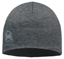Шапка Buff Microfiber & Polar Hat grey stripes