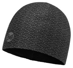 Шапка Buff Microfiber & Polar Hat kureshi black
