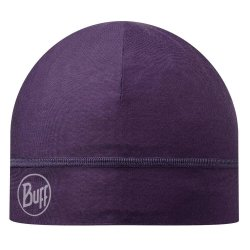 Шапка Buff Microfiber One Layer Hat solid plum