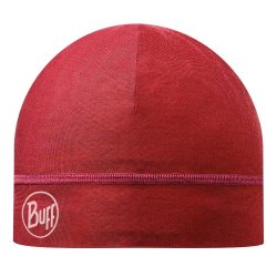 Шапка Buff Microfiber One Layer Hat solid red