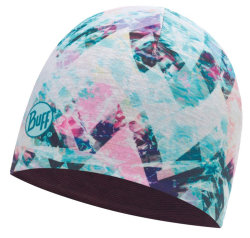 Шапка Buff Microfiber Reversible Hat irised aqua