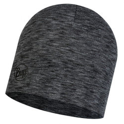 Шапка Buff Midweight Merino Wool Hat multi stripes graphite
