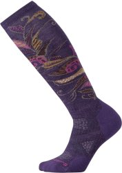 Носки женские Smartwool PhD Ski Medium Pattern Socks (Mountain Purple)