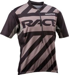 Веломайка RaceFace Podium jersey Zip 3/4 black