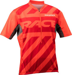 Веломайка RaceFace Podium jersey Zip 3/4 red