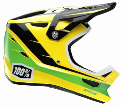 Шлем Ride 100% STATUS Helmet D-Day Yellow