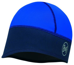 Шапка Buff Windproof Tech Fleece Hat solid blue