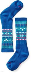 Носки детские Smartwool Wintersport Fairisle Moose (Bright Blue)