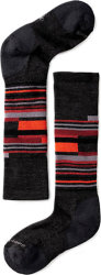 Носки детские Smartwool Wintersport Stripe (Charcoal/Bright Orange)