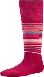 Носки детские Smartwool Wintersport Stripe (Persian Red)