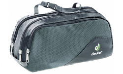 Сумка Deuter Wash Bag Tour III цвет 7410 black-granite