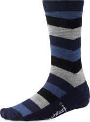 Носки Smartwool Chevron Stripe (Deep Navy Heather)