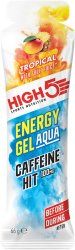 Гель энергетический High5 Energy Gel Aqua Caffeine Tropical 66g