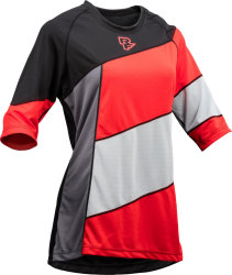 Веломайка RaceFace Khyber jersey grey/red