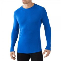 Кофта Smartwool NTS Light 200 Crew Bright Blue