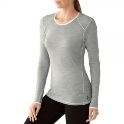 Кофта Smartwool NTS Micro 150 Pattern Crew Silver Gray Heather