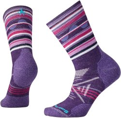 Носки женские Smartwool PhD Outdoor Middle Pattern Crew (Mountain Purple)