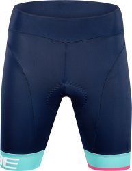 Шорты женские Cube Teamline WS Cycle Shorts blue'n'mint
