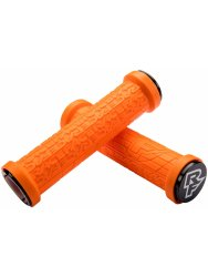 Ручки руля RaceFace Grippler, 30mm, lock on, orange, p021