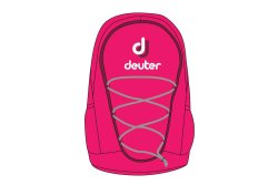 Чехол Deuter Mini Go-Go magenta-blackbaery