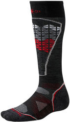 Носки Smartwool PhD Ski Light Pattern Socks (Black/Red)