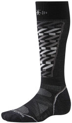 Носки Smartwool PhD Ski Light Pattern Socks (Black/White)