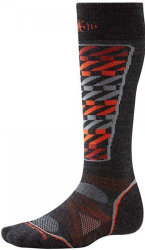 Носки Smartwool PhD Ski Light Pattern Socks (Charcoal)