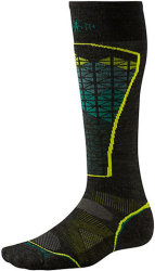 Носки Smartwool PhD Ski Light Pattern Socks (Charcoal/Alpine Green)