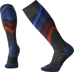 Носки высокие Smartwool PhD Ski Medium Pattern (Charcoal)