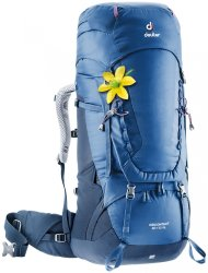Рюкзак Deuter Aircontact 50 + 10 SL цвет 3399 steel-midnight