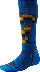 Носки Smartwool PhD Ski Medium Pattern (Bright Blue)