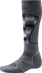 Носки Smartwool PhD Ski Medium Pattern (Graphite/White)