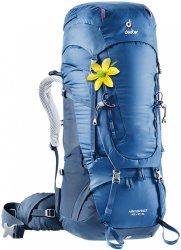 Рюкзак Deuter Aircontact 40 + 10 SL цвет 3399 steel-midnight