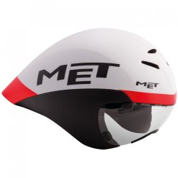 Шлем MET Drone white/black/red