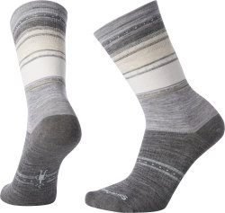 Носки женские Smartwool Sulawesi Stripe Crew (Light Gray)