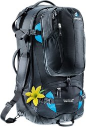 Рюкзак Deuter Traveller 60 + 10 SL цвет 7321 black-turquoise