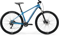 "Велосипед Merida Big.Nine 300 29"" matt light blue (glossy blue/silver)"