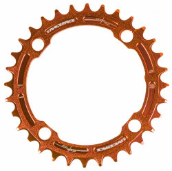 Звезда шатунов RaceFace Chainring, Narrow Wide, pcd 104, 9-12S оранжевая