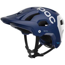 Шлем POC Tectal Race Spin Lead Blue/Hydrogen White Matt