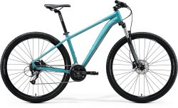 Велосипед Merida Big Nine 40 glossy teal (black/silver-teal)
