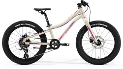 Велосипед Merida Matts J20+ matt light sand (berry)